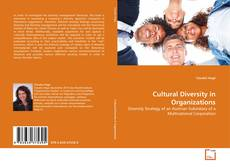 Bookcover of Cultural Diversity in Organizations