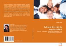 Couverture de Cultural Diversity in Organizations