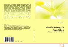Couverture de Intrinsic Paradox in Translation