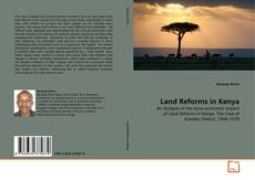 Capa do livro de Land Reforms in Kenya