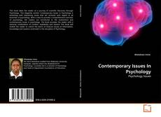 Portada del libro de Contemporary Issues In Psychology