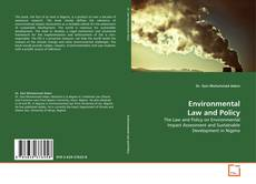 Buchcover von Environmental Law and Policy