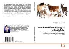 Buchcover von Environmental toxicology in industrial city