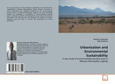 Couverture de Urbanisation and Environmental Sustainability