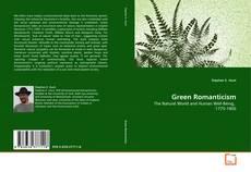 Capa do livro de Green Romanticism