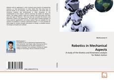 Couverture de Robotics in Mechanical Aspects