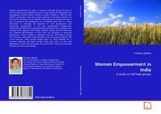 Bookcover of Women Empowerment in India