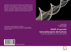 Portada del libro de QSAR of pyrrolo benzodiazepine derivatives