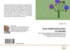 Bookcover of Eine traditionale Kultur im Wandel
