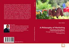 Capa do livro de A Philosophy of Marketing Communication
