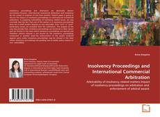 Couverture de Insolvency Proceedings and International Commercial Arbitration