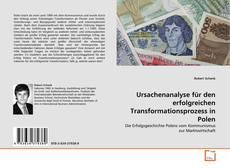 Buchcover von Ursachenanalyse für den erfolgreichen Transformationsprozess in Polen