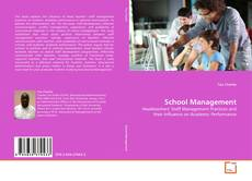Couverture de School Management