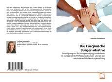 Copertina di Die Europäische Bürgerinitiative