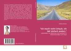 """Capa do livro de """"Ich mach' nicht Urlaub, ich leb' einfach anders."""""""