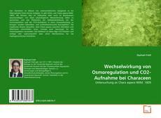 Portada del libro de Wechselwirkung von Osmoregulation und CO2-Aufnahme bei Characeen