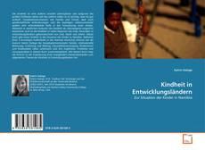 Kindheit in Entwicklungsländern kitap kapağı