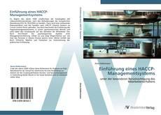 Einführung eines HACCP-Managementsystems的封面
