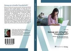 Capa do livro de Genug von virtueller Freundschaft?