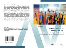 Bookcover of Interkulturelles Management