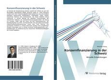 Buchcover von Konzernfinanzierung in der Schweiz