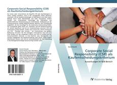 Copertina di Corporate Social Responsibility (CSR) als Kaufentscheidungskriterium