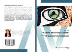 Bookcover of Wählen Altruisten anders?