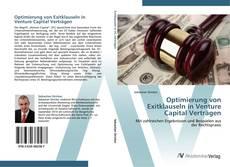 Copertina di Optimierung von Exitklauseln in Venture Capital Verträgen