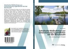 Bookcover of Schulische Maßnahmen zur Unterstützung Jugendlicher bei der Berufswahl