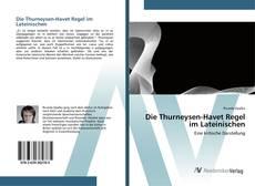 Copertina di Die Thurneysen-Havet Regel im Lateinischen