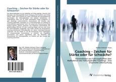 Couverture de Coaching – Zeichen für Stärke oder für Schwäche?