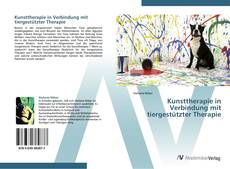 Couverture de Kunsttherapie in Verbindung mit tiergestützter Therapie