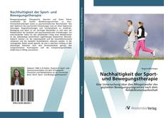 Bookcover of Nachhaltigkeit der Sport- und Bewegungstherapie