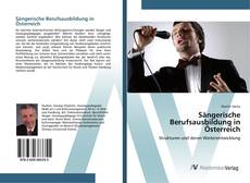 Copertina di Sängerische Berufsausbildung in Österreich