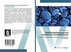 Bookcover of Stoffmodellierung und statistische Schnittanalyse