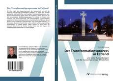 Buchcover von Der Transformationsprozess in Estland