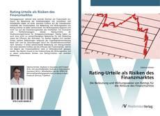 Borítókép a  Rating-Urteile als Risiken des Finanzmarktes - hoz