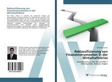 Buchcover von Reklassifizierung von Finanzinstrumenten in der Wirtschaftskrise