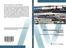 Buchcover von Die Finanzkrise in den Medien