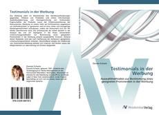 Buchcover von Testimonials in der Werbung
