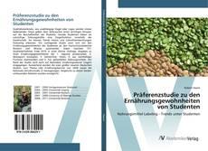 Bookcover of Präferenzstudie zu den Ernährungsgewohnheiten von Studenten