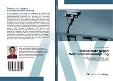 Capa do livro de Datenschutz gegen Verbrechensbekämpfung