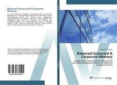 Portada del libro de Balanced Scorecard & Corporate Memory
