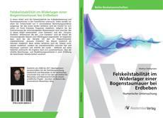 Bookcover of Felskeilstabilität im Widerlager einer Bogenstaumauer bei Erdbeben