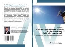 Обложка Nachhaltigkeitskommunikation in der deutschen Elektrizitätswirtschaft