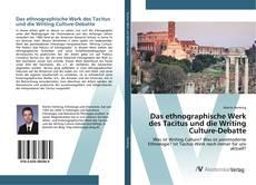 Portada del libro de Das ethnographische Werk des Tacitus und die Writing Culture-Debatte