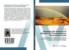 Borítókép a  Geologie des Betancuria Massivs auf Fuerteventura, Kanarische Inseln - hoz