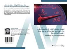 Buchcover von miha bodytec -Möglichkeiten des Sprungkrafttrainings im  Handballsport
