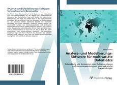 Bookcover of Analyse- und Modellierungs-Software für multivariate Datensätze