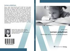 Bookcover of Lernen anbahnen
